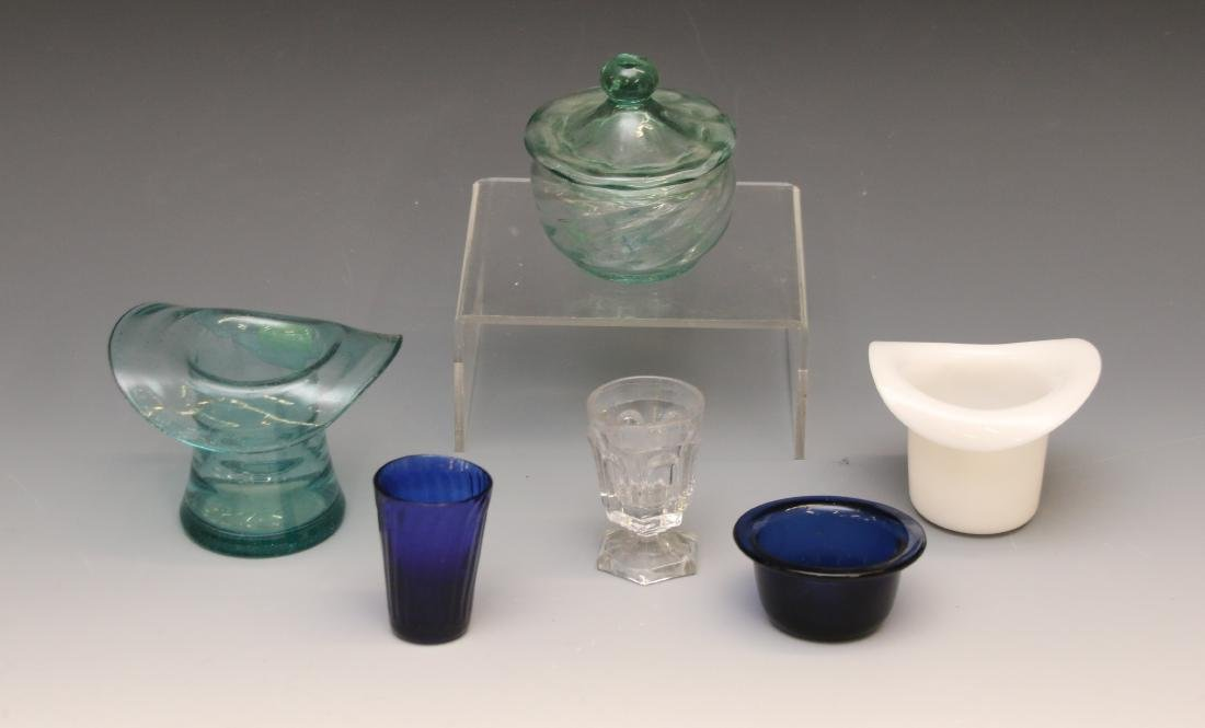 GROUP LOT OF EARLY GLASS