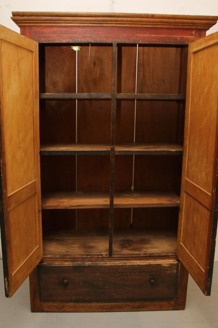 EARLY TWO DOOR CUPBOARD - 2
