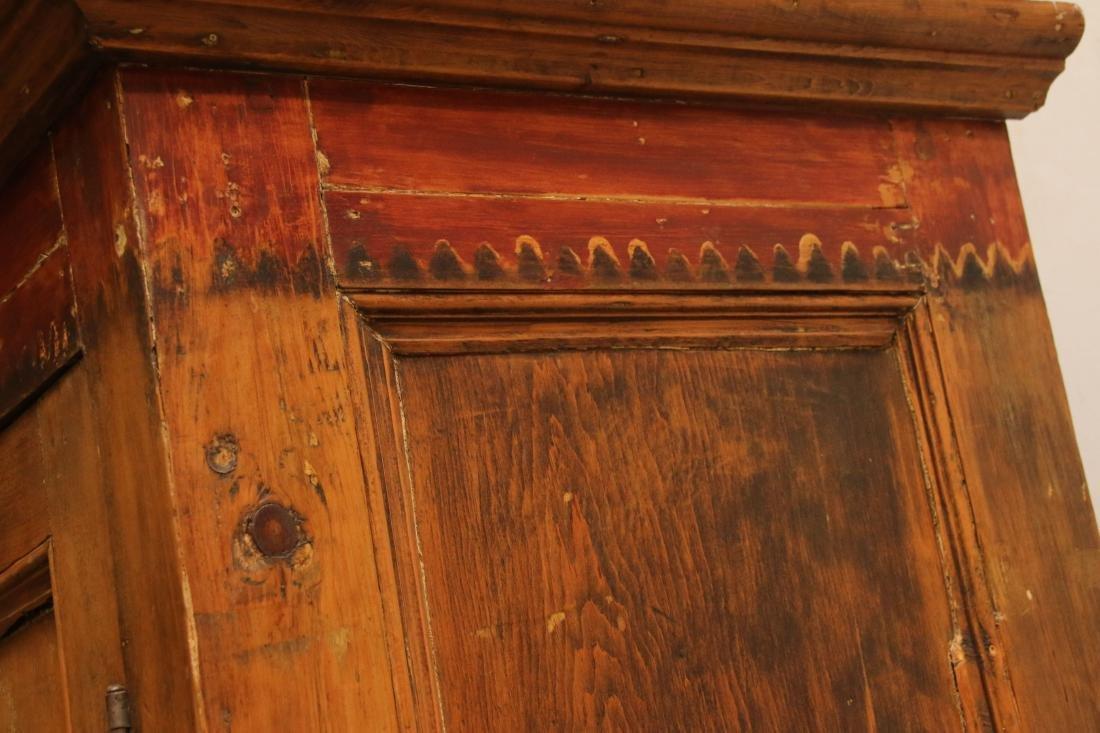 EARLY TWO DOOR CUPBOARD - 3