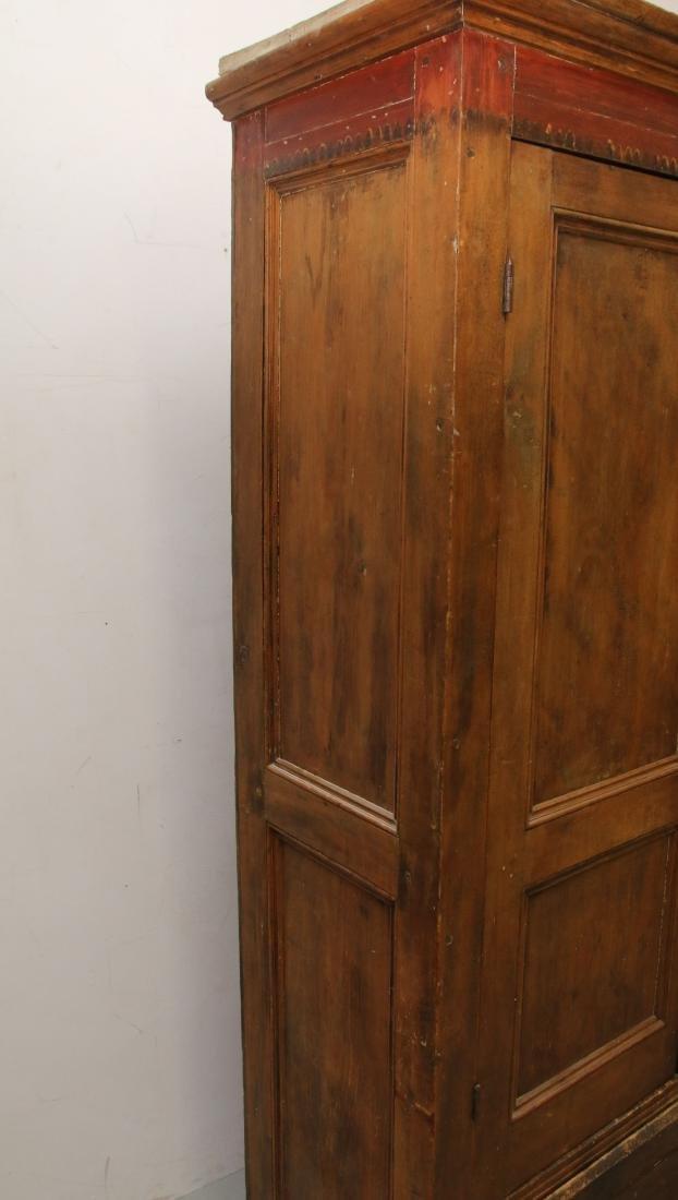 EARLY TWO DOOR CUPBOARD - 4