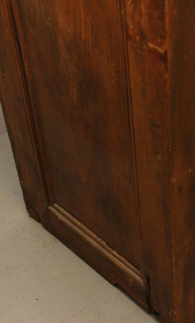 EARLY TWO DOOR CUPBOARD - 5
