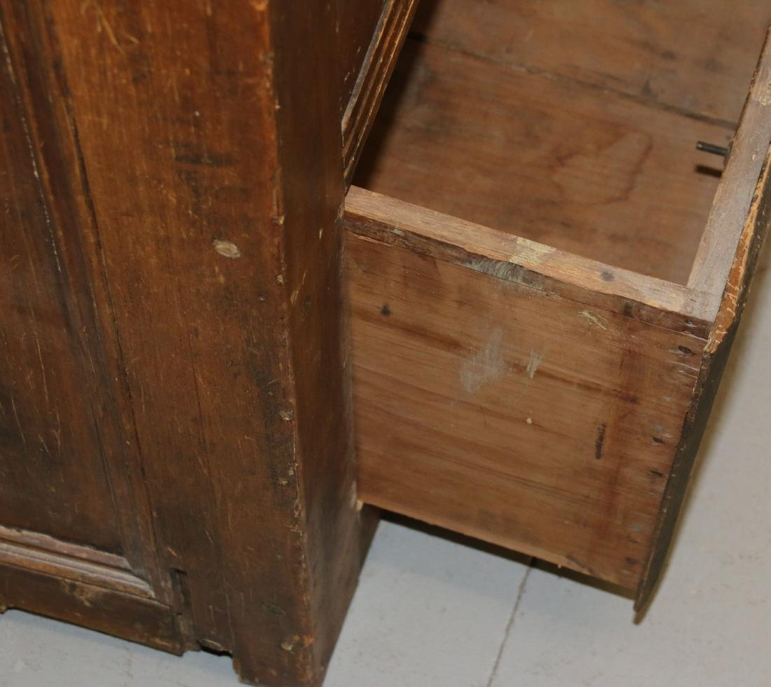 EARLY TWO DOOR CUPBOARD - 6