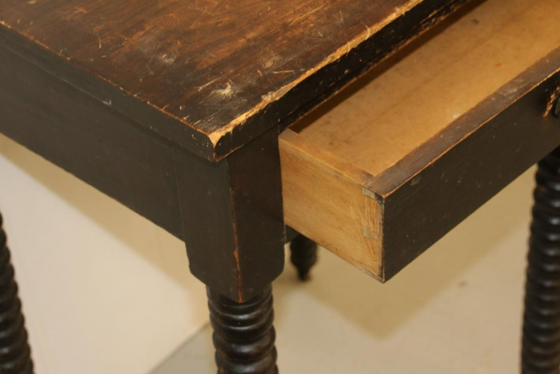 ONE DRAWER WORK TABLE - 3