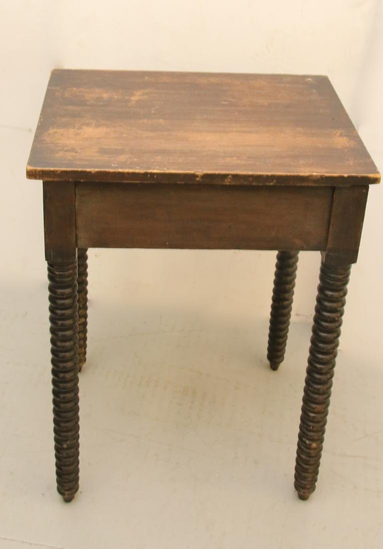 ONE DRAWER WORK TABLE - 4