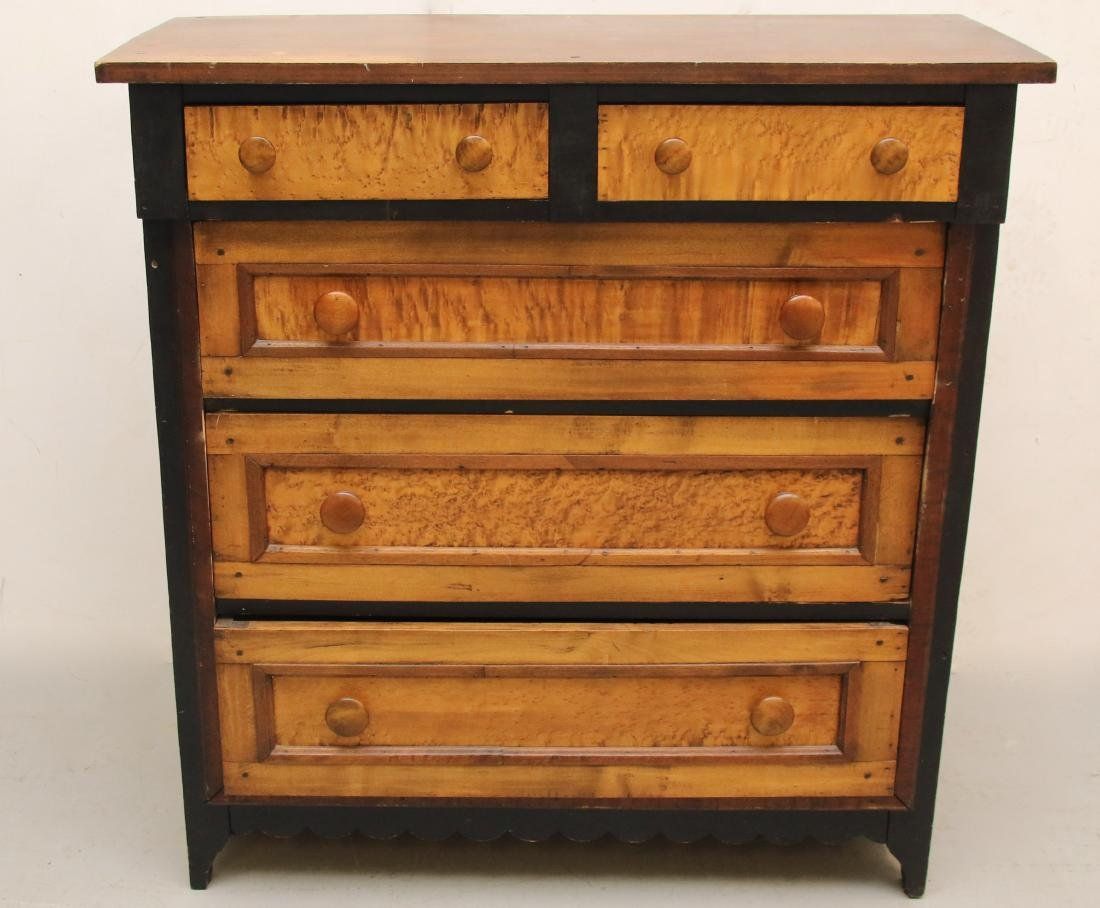EARLY CHEST OF DRAWERS