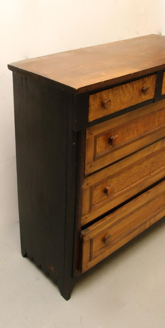 EARLY CHEST OF DRAWERS - 4