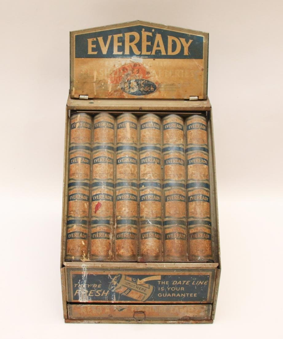 EVEREADY BATTERY DISPLAY
