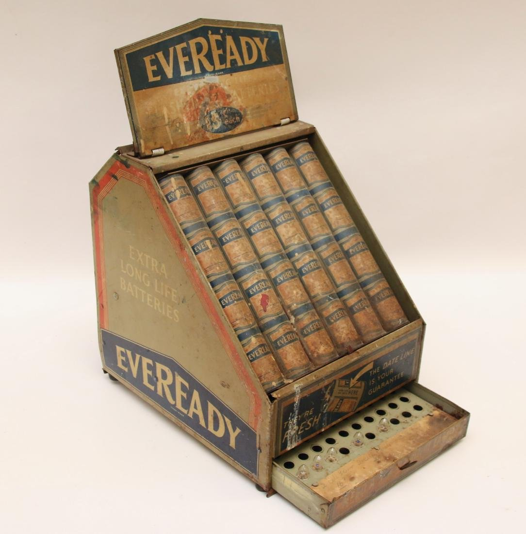 EVEREADY BATTERY DISPLAY - 2