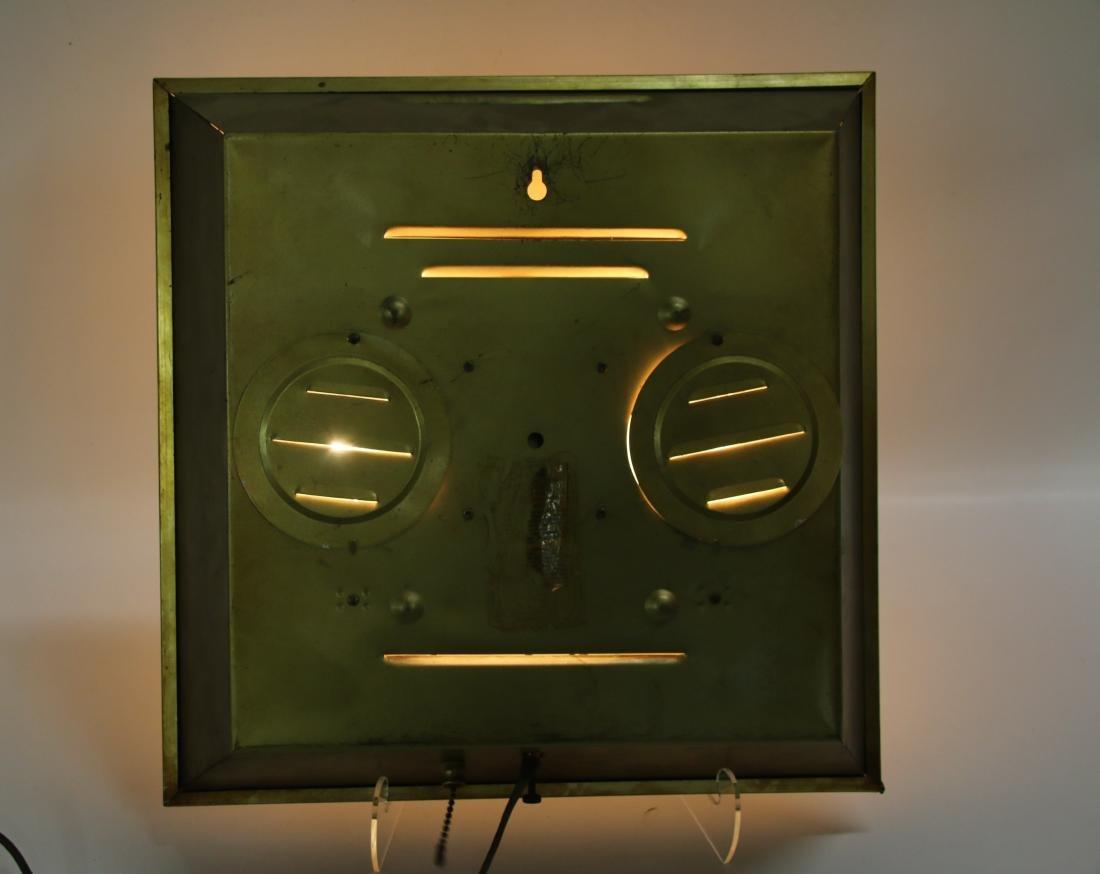 BALLANTINE BEER ADV. CLOCK - 2