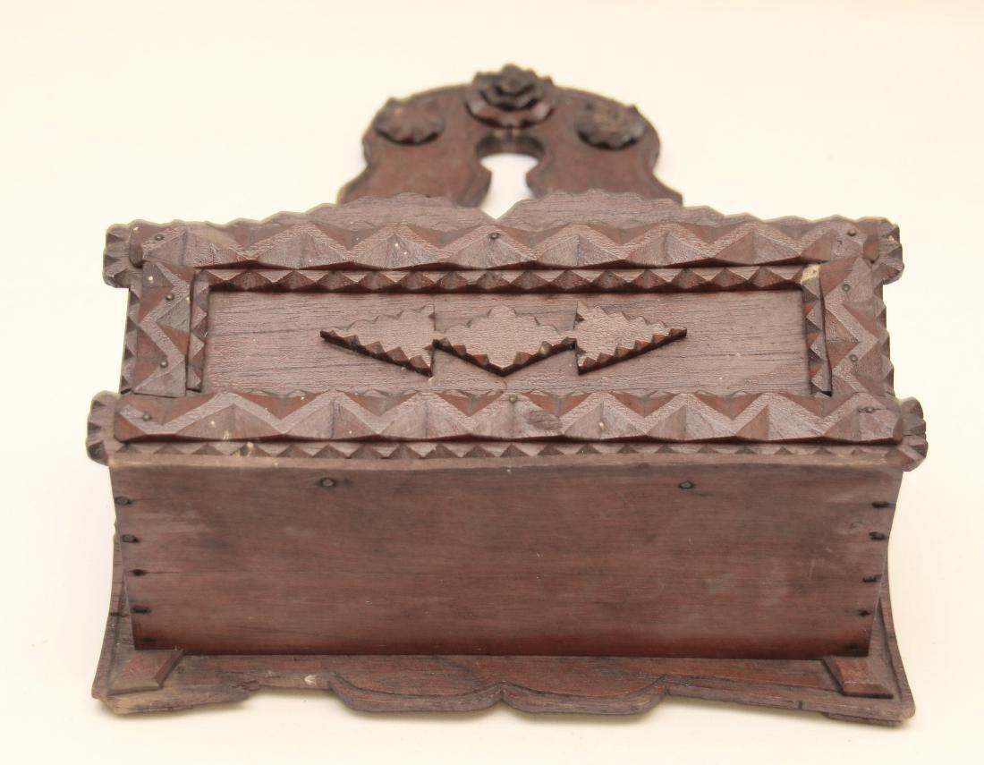 TRAMP ART WALL BOX - 2