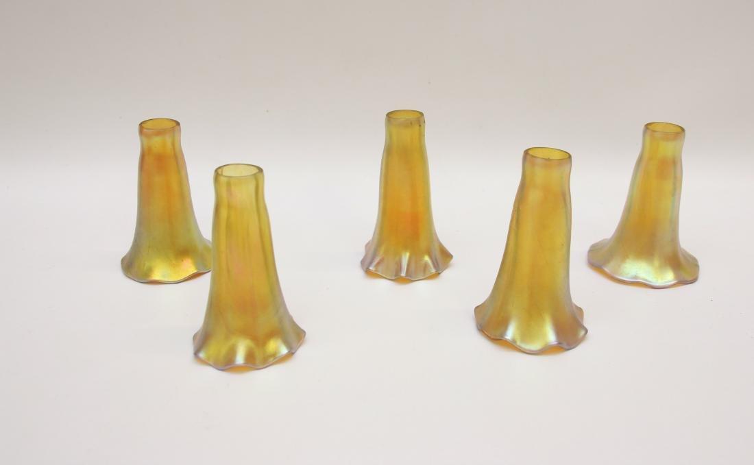 ART GLASS SHADE LOT