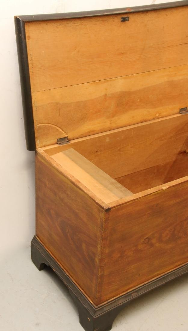 GRAIN PAINTED BLANKET CHEST - 4