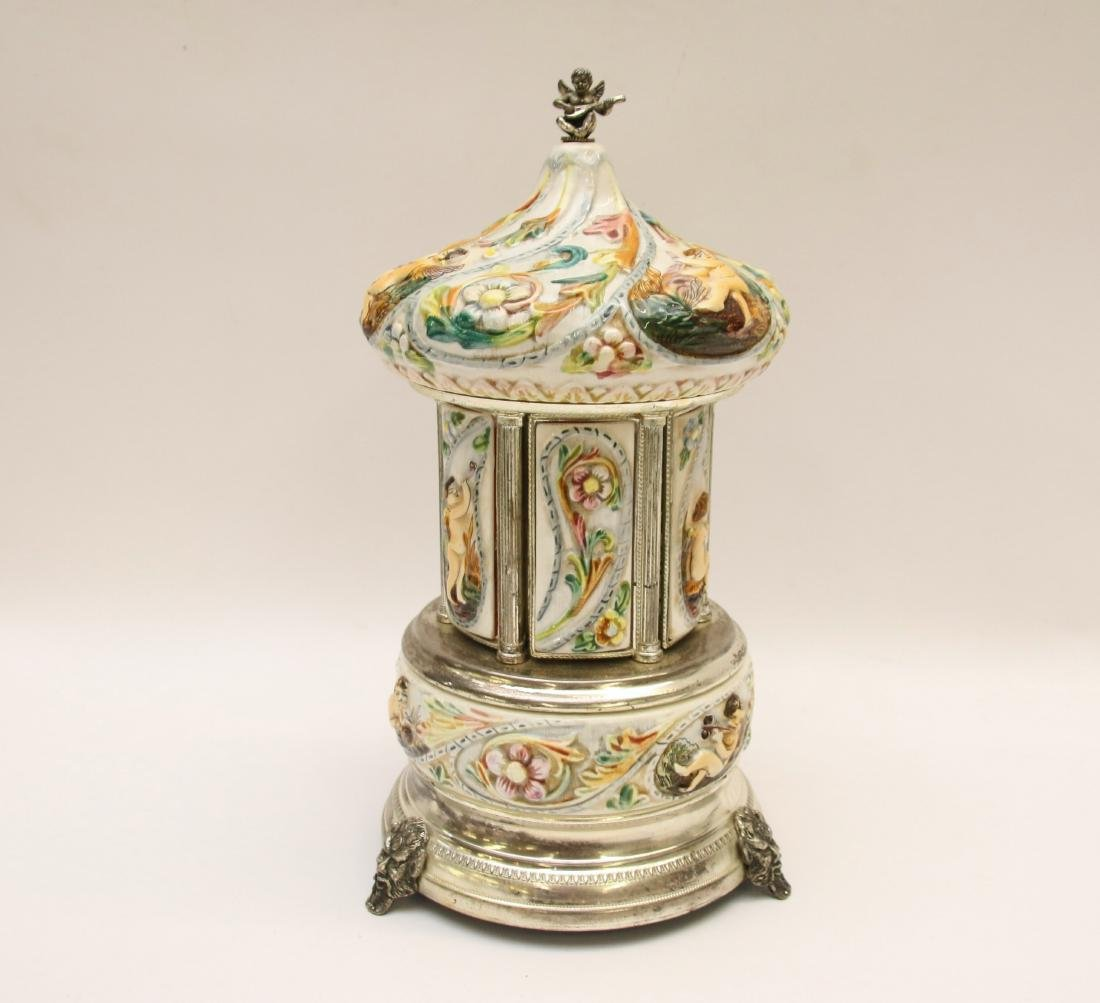"REUGE ""FASCINATION"" MUSIC BOX"