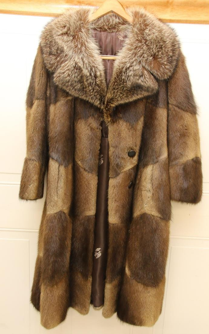 LADIES FUR COAT