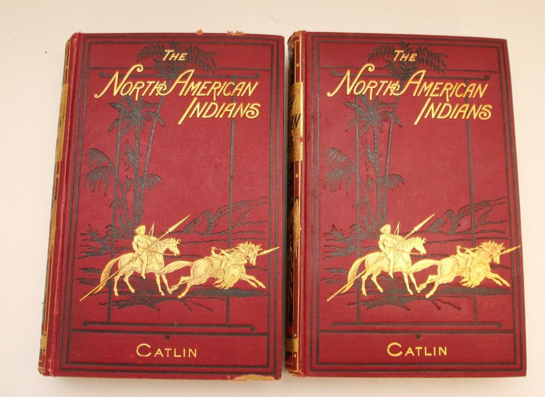 NORTH AMERICAN INDIANS TWO VOLUMES