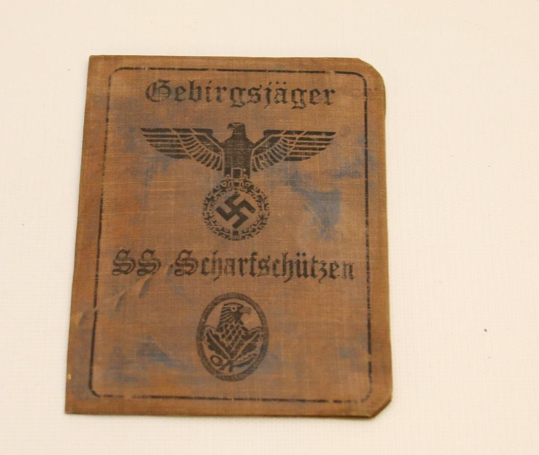 FANTASY WWII GERMAN  PASSPORT