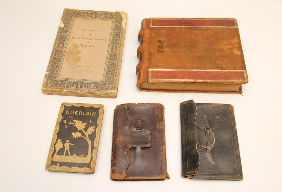 EARLY LOT OF BOOKS AND LEDGERS