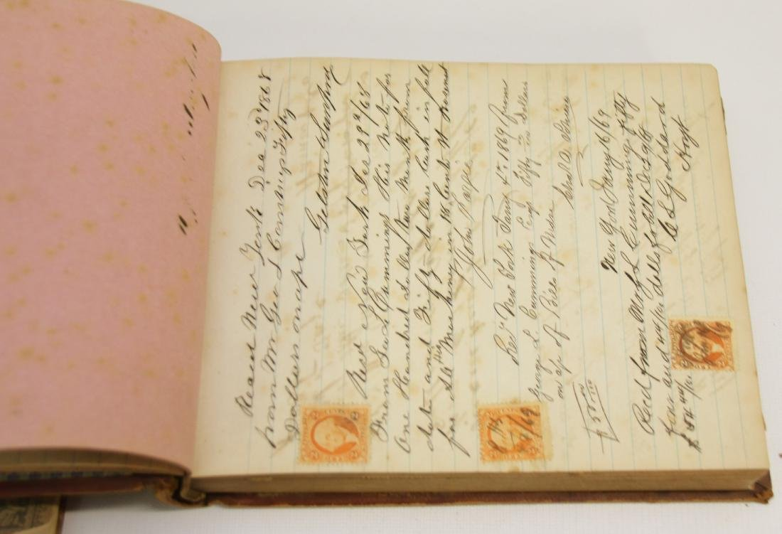 EARLY LOT OF BOOKS AND LEDGERS - 2