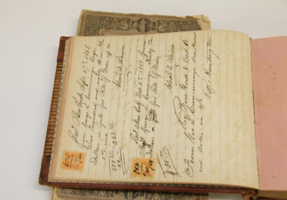 EARLY LOT OF BOOKS AND LEDGERS - 3