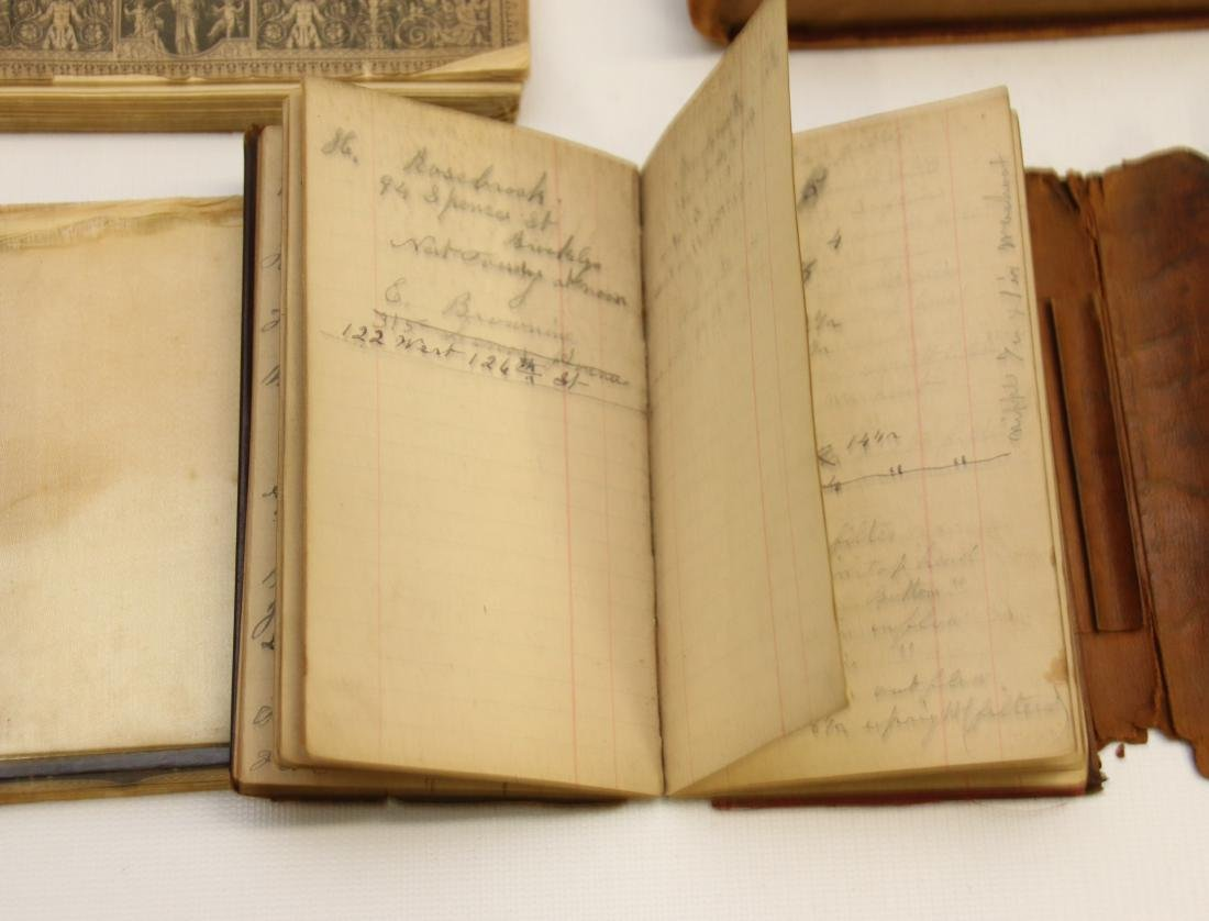 EARLY LOT OF BOOKS AND LEDGERS - 5