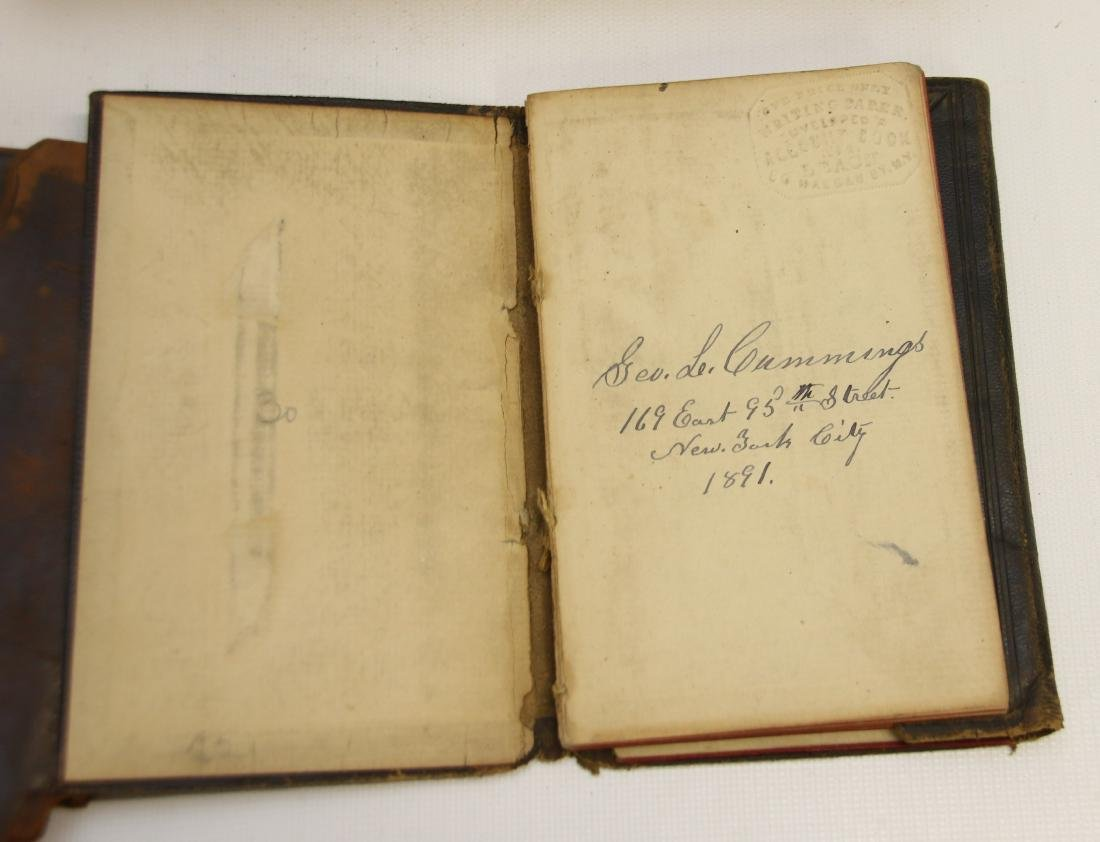 EARLY LOT OF BOOKS AND LEDGERS - 6
