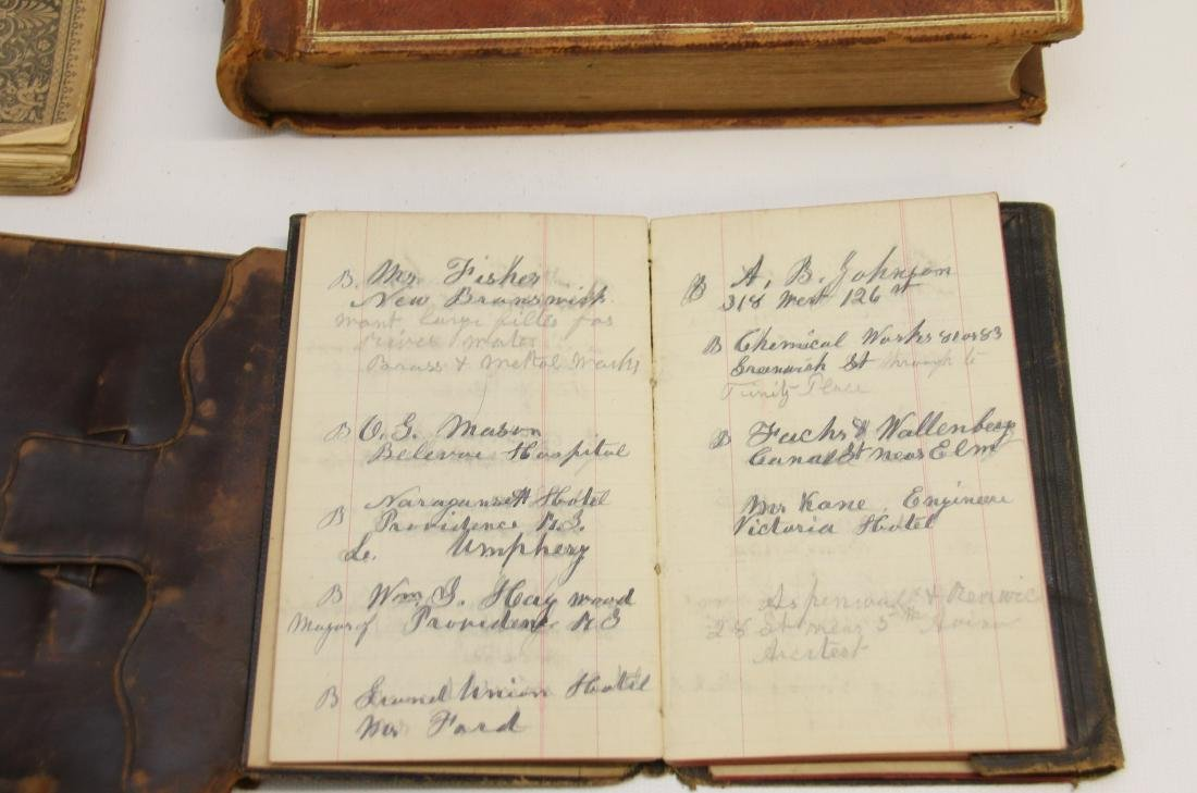 EARLY LOT OF BOOKS AND LEDGERS - 7