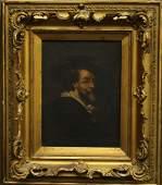 A. P.P. RUBENS PORTRAIT ON CANVAS