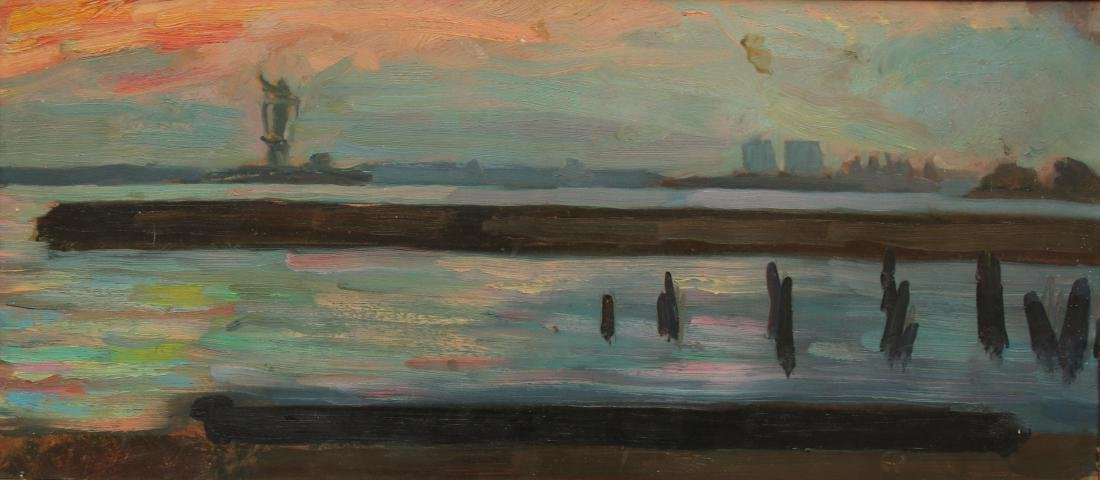 INDUSTRIAL OIL ON BOARD