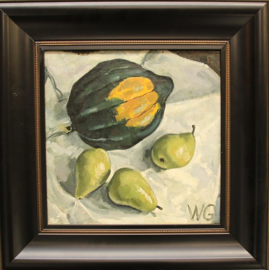 WILLIAM GOTHARD OIL ON CANVAS - 2