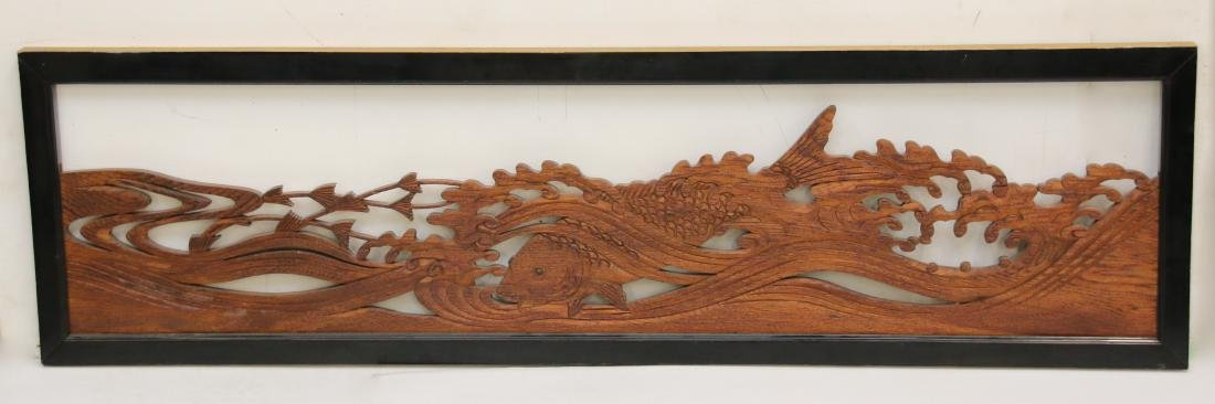 CARVED FRET WORK