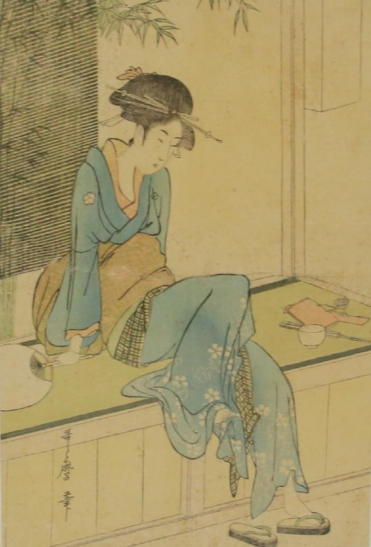 (3) JAPANESE WOODBLOCK PRINTS - 3