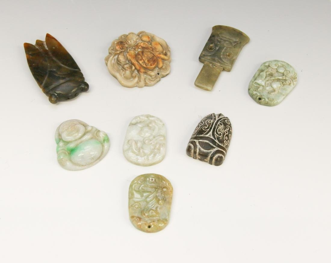 HARDSTONE CARVING LOT