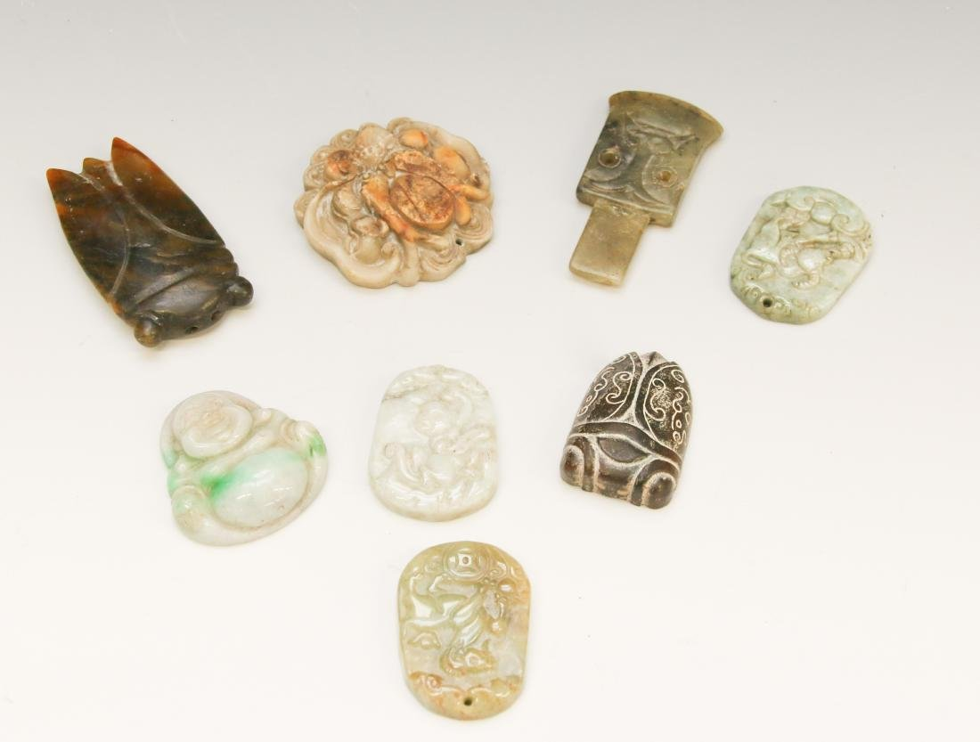 HARDSTONE CARVING LOT - 2