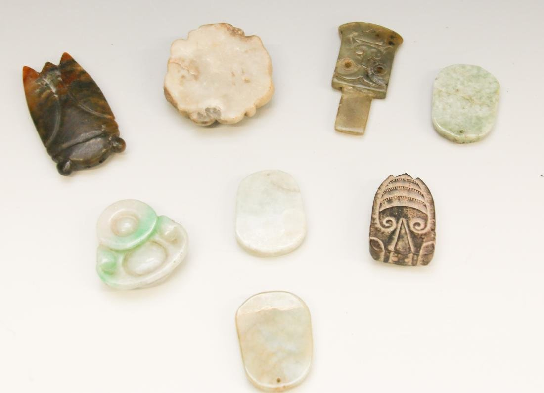 HARDSTONE CARVING LOT - 3