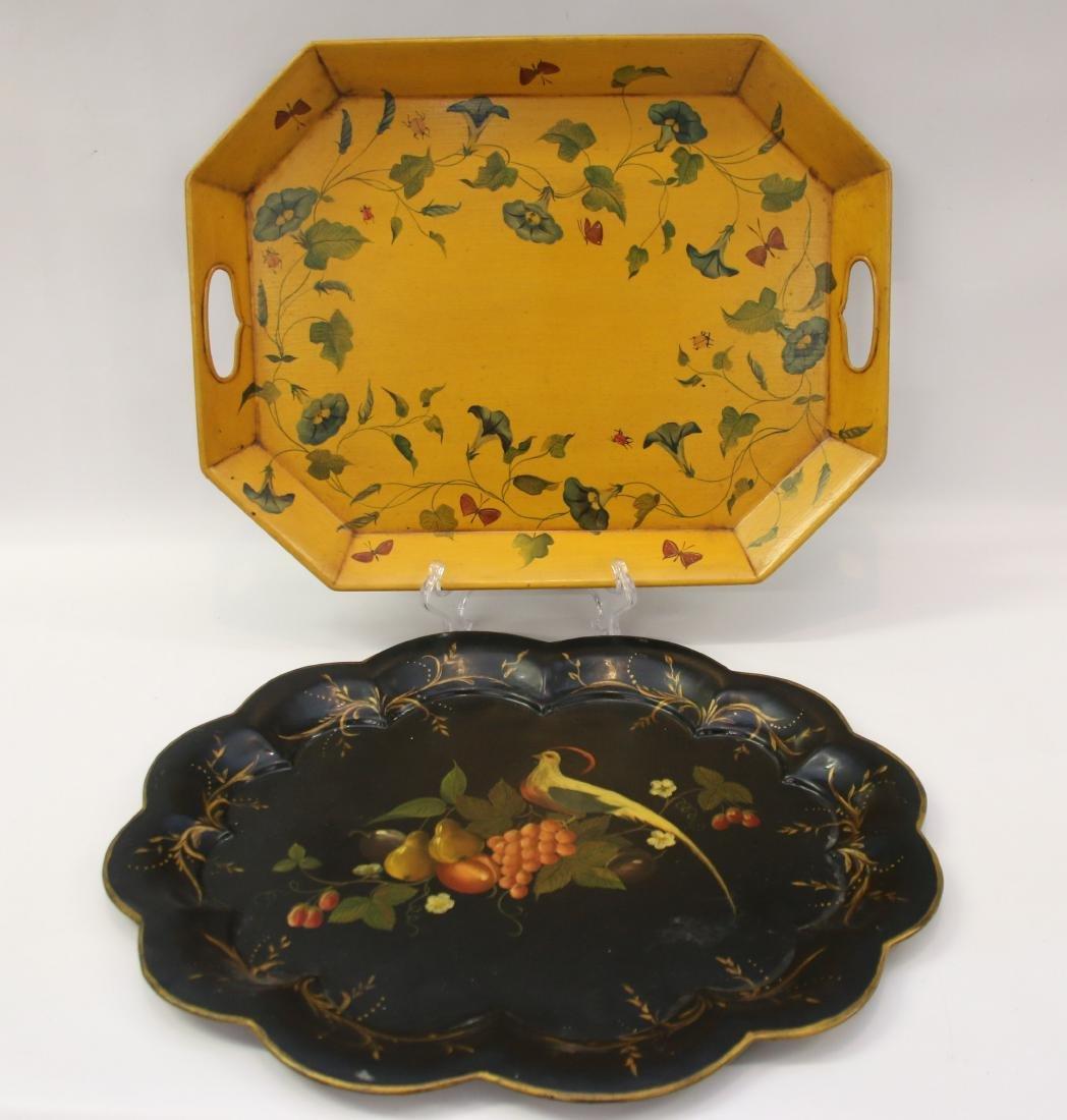 Other Antique Decorative Arts Obedient An Antique Porcelain Tray
