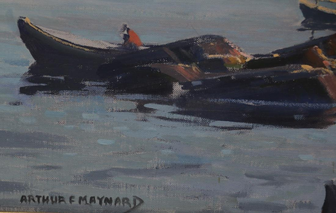 ARTHUR F. MAYNARD OIL ON CANVAS - 3