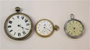 GROUP LOT OF POCKET WATCHES