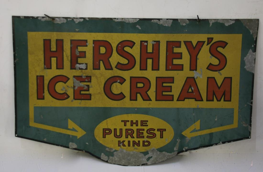 DOUBLE SIDED TIN SIGN
