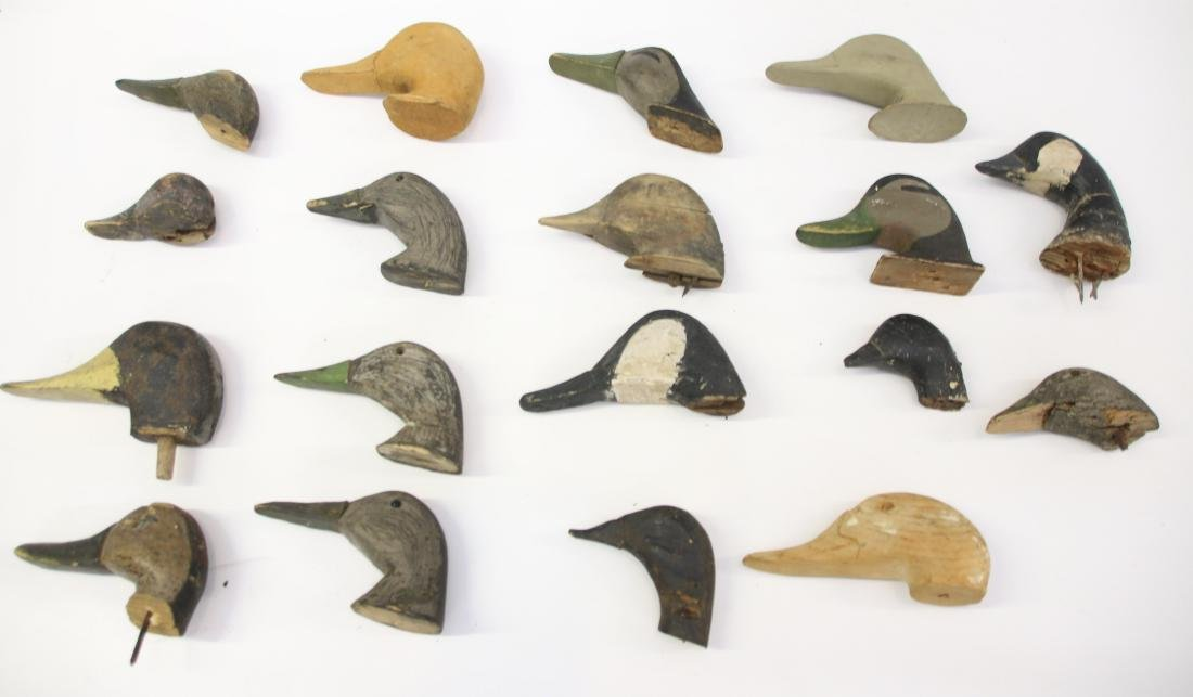 GROUP LOT OF DECOY'S