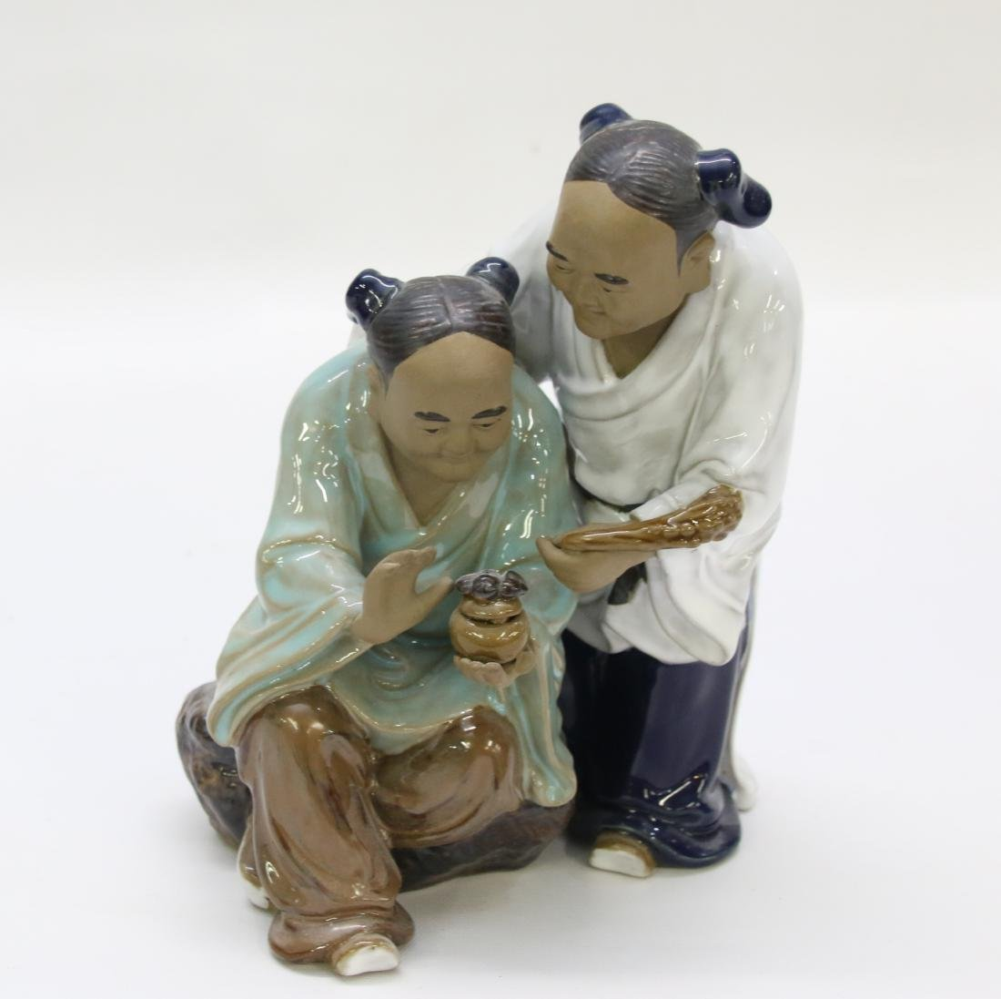 CHINESE POTTERY FIGURE