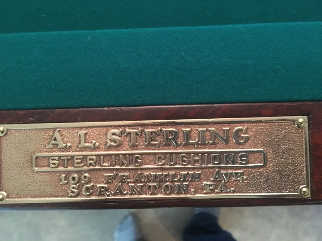 A.L. STERLING POOL TABLE - 2