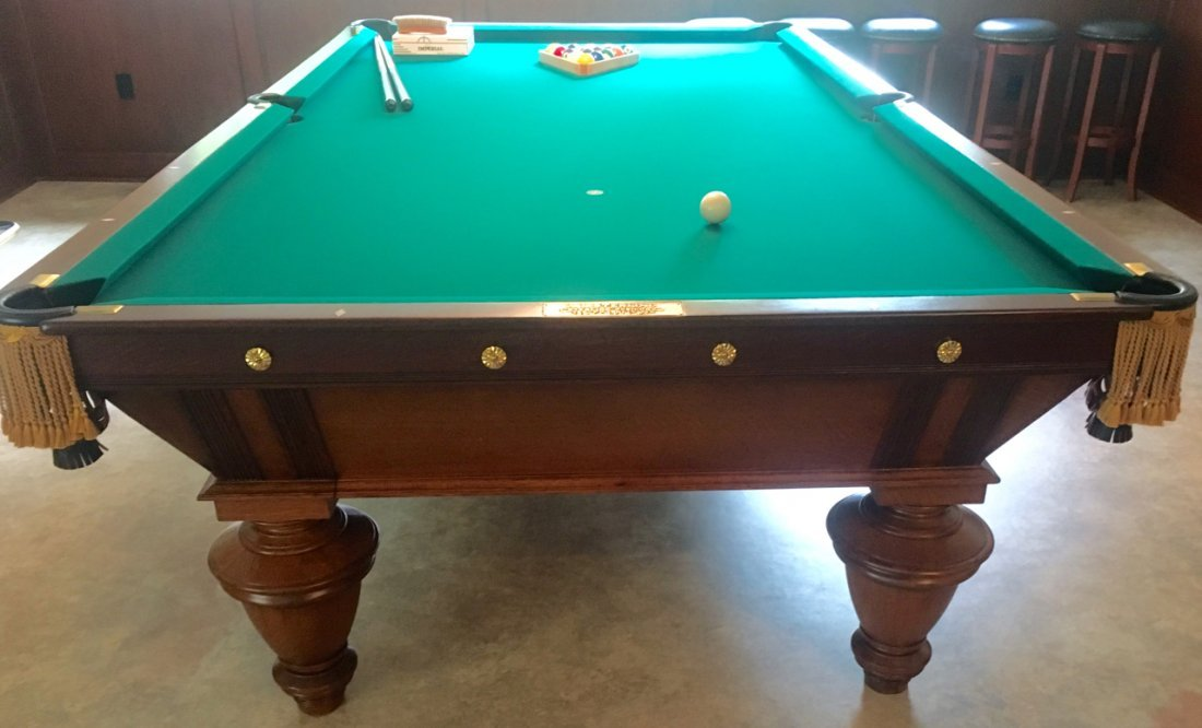 A.L. STERLING POOL TABLE - 3