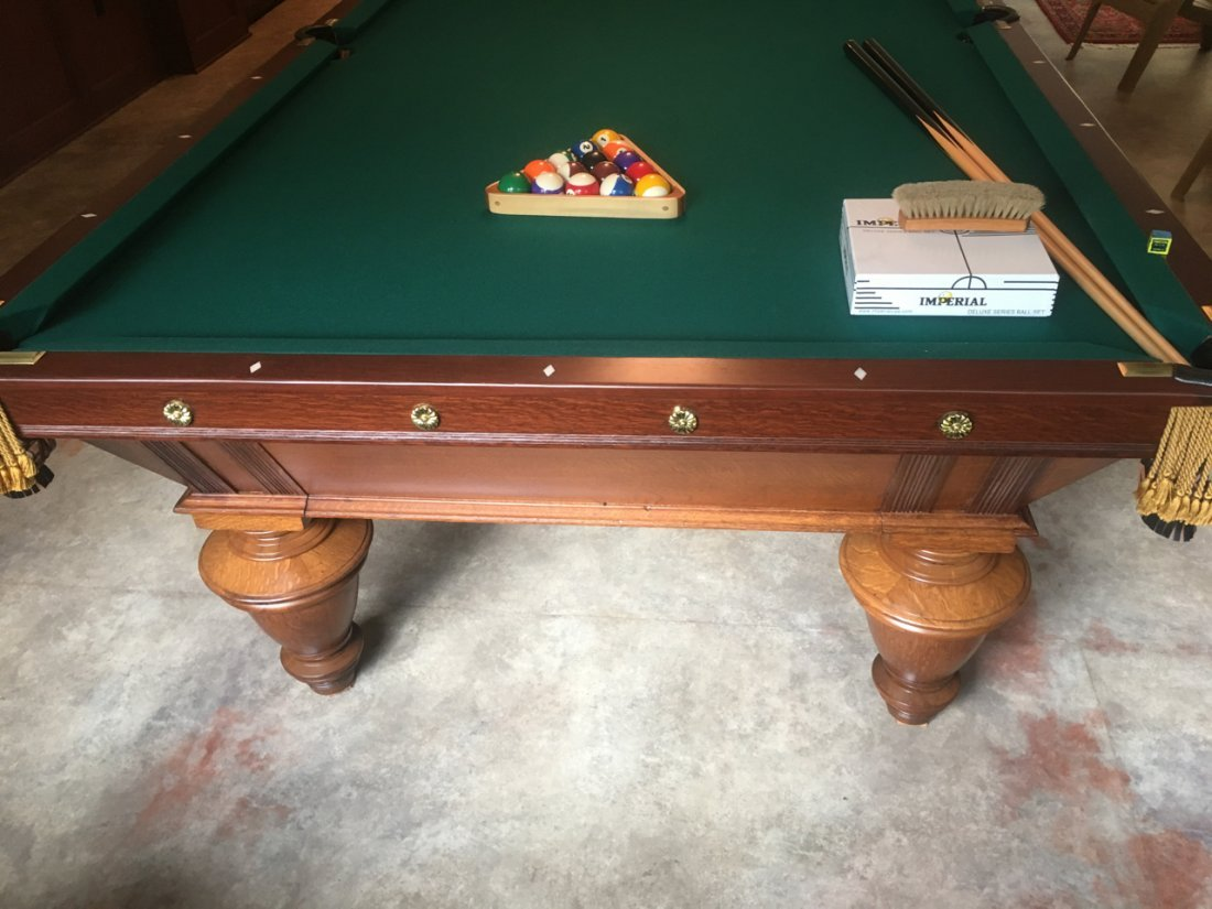 A.L. STERLING POOL TABLE - 6