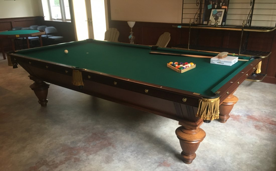A.L. STERLING POOL TABLE - 7