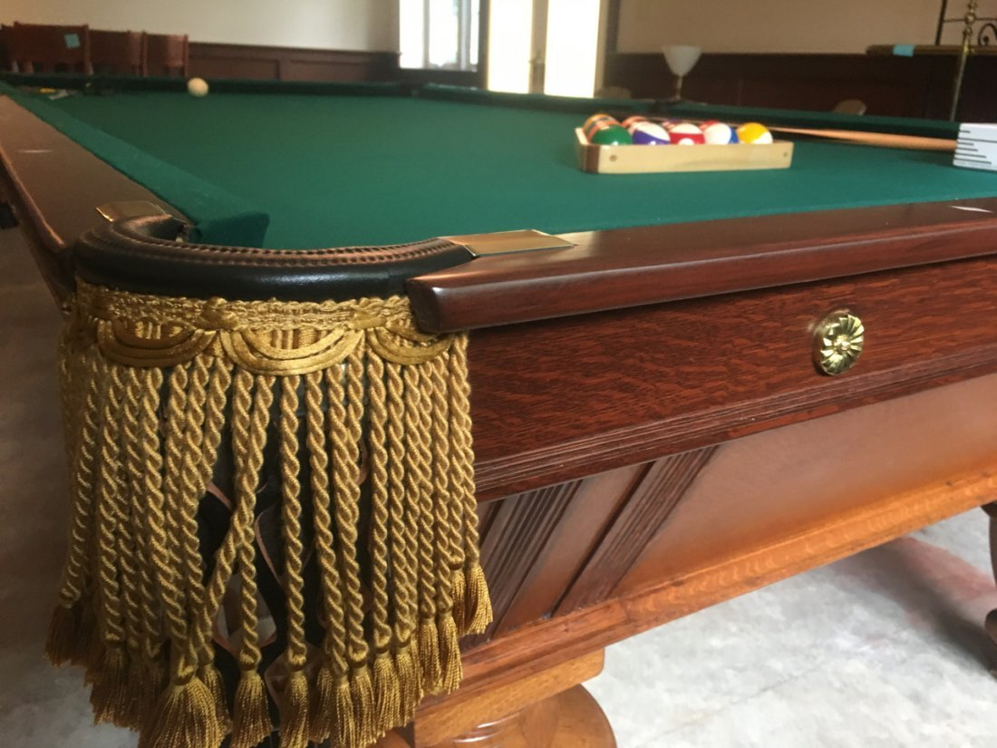 A.L. STERLING POOL TABLE - 8