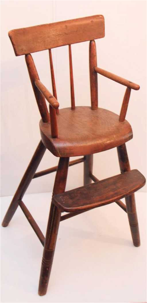 - ANTIQUE CHILDS CHAIR