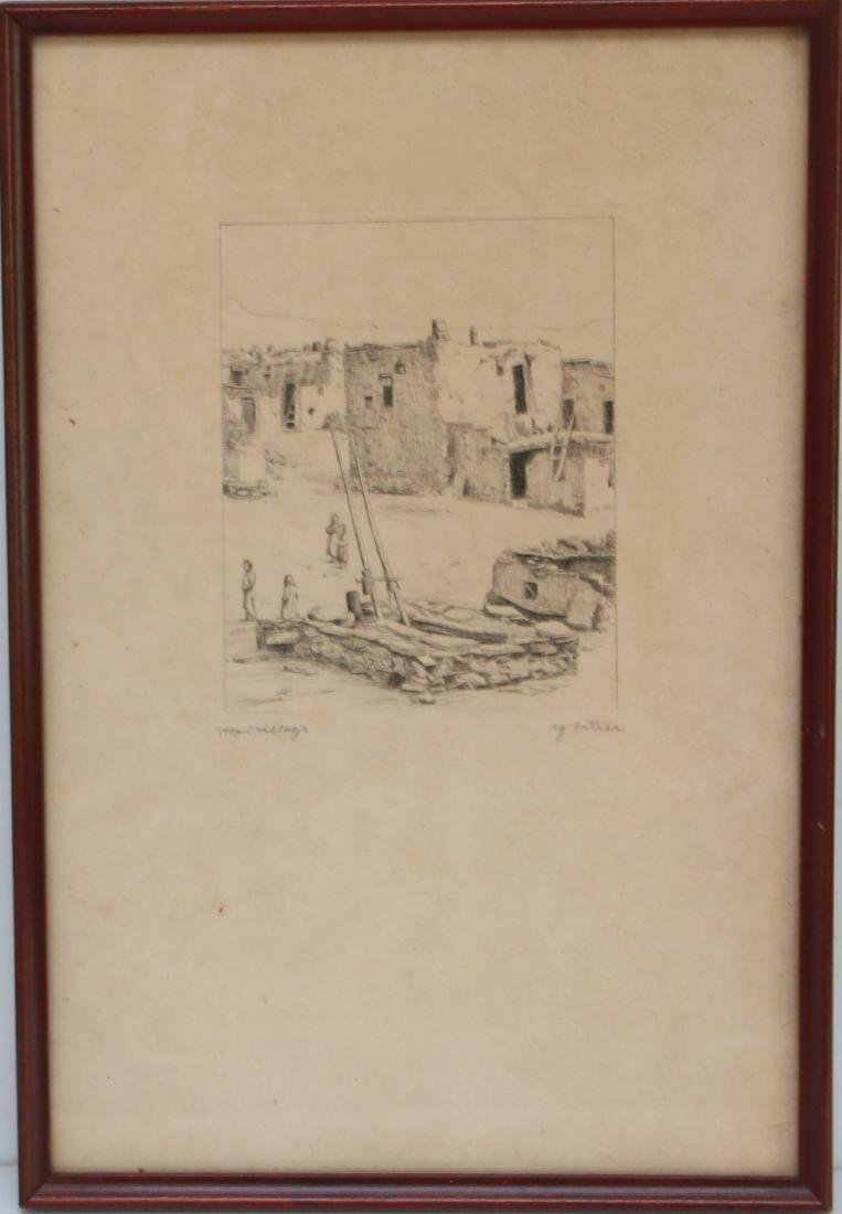 M. FORTIER VINTAGE ENGRAVING - 2