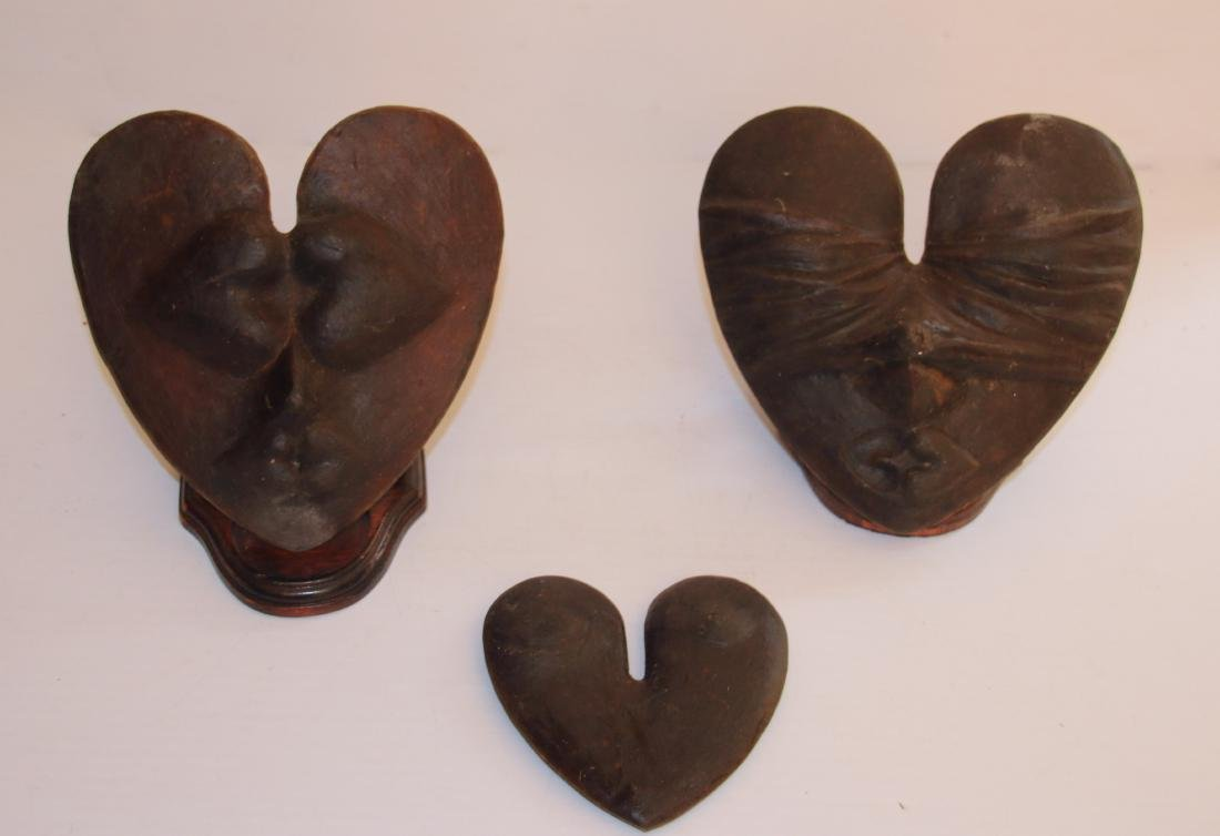 MERLE STEIR CLAY HEART LOT