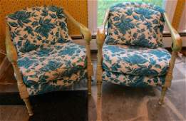 PR OF VINTAGE ARMCHAIRS