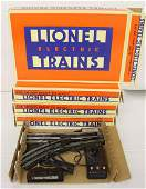 (4) Lionel O gauge remote control switches
